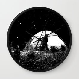 asc 455 - L'obscure clarté (The She-Wolf) Wall Clock