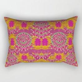 fern landscape in harmony with bleeding-hearts fantasy art Rectangular Pillow