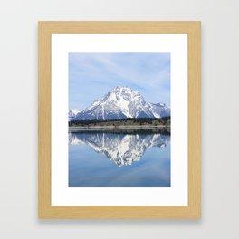 Mt. Moran Reflection #1 Framed Art Print