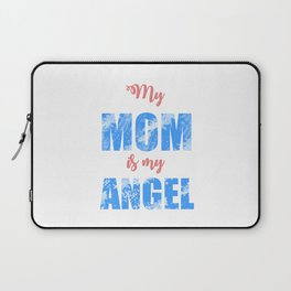 Happy Mothers Day Message Best Mom Grandma Gift Laptop Sleeve