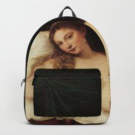 """Titian (Tiziano Vecelli) """"Venus of Urbino"""", 1538 Backpack"""