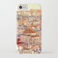 takmaj iPhone & iPod Cases featuring Athens by takmaj