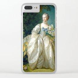 Madame Bergeret Clear iPhone Case