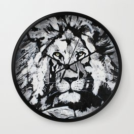 The Lion on The Rock Wall Clock