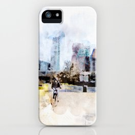 sketch the Hague 3 iPhone Case