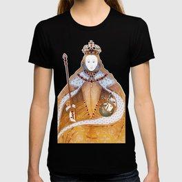 Queen Elizabeth I - historical illustration T-shirt