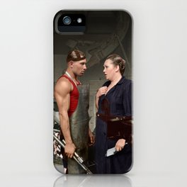 Promotion on job iPhone Case