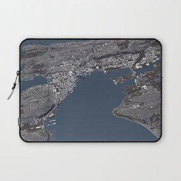 Seattle City Map II Laptop Sleeve