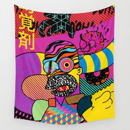 Trippin' Homer Wall Tapestry