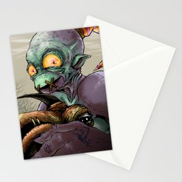 Oddworld: Abe and Elum Stationery Cards