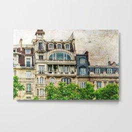 Paris Architecture Metal Print