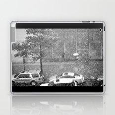 Rainy NYC Sidewalk Laptop & iPad Skin