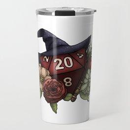 Wizard Class D20 - Tabletop Gaming Dice Travel Mug