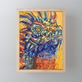 Dragon Framed Mini Art Print