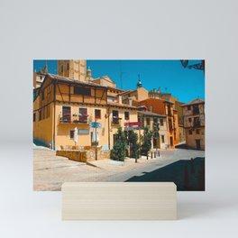 Streets Of Segovia Mini Art Print