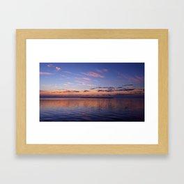 Lavender Gold Light Framed Art Print