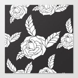 Rose pattern Canvas Print