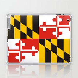 maryland state state flag united states of america country Laptop & iPad Skin
