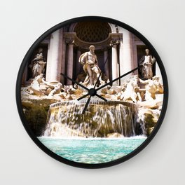 italy - rome - vacanze romane_28 Wall Clock