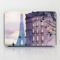 paris iPad Cases featuring Paris by Emma Reznikova