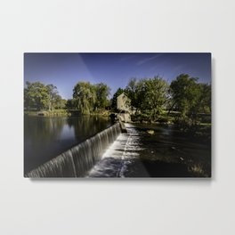 Beckman Mill in late afternoon sun Metal Print