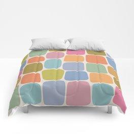 Minimal Blocks - Rainbow Comforters
