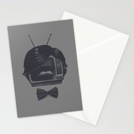 The Classiest TV Set Stationery Cards
