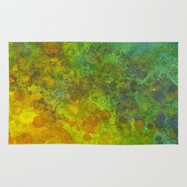 Abstract Sunlight Rug