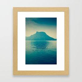 isla nublar... Framed Art Print