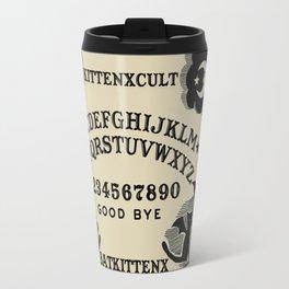 BatxCat Ouija Board Travel Mug