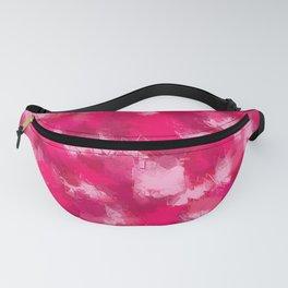 Cubist Valentines Pink Pattern Fanny Pack