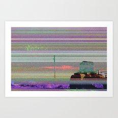 autotune 1 Art Print
