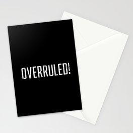 Overrruled! Stationery Cards