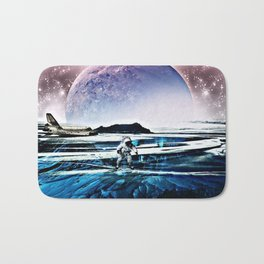 Translucent Planet by GEN Z Bath Mat