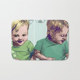 Babies Blue Bath Mat