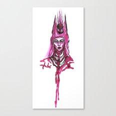 Magenta priestess Canvas Print