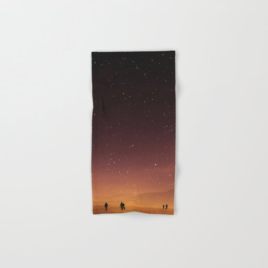 Planet Walk Hand & Bath Towel