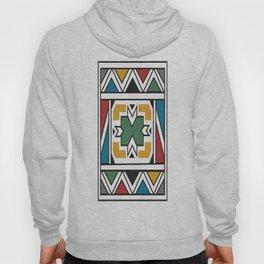 African Tribal Pattern No. 166 Hoody