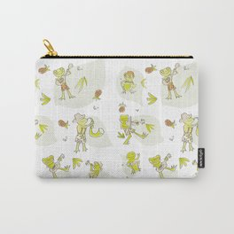 Frog Jamboree  Carry-All Pouch