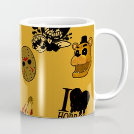 I <3 HORROR Coffee Mug