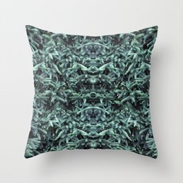 firs & foxes Throw Pillow
