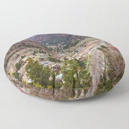 Ouray Colorado Floor Pillow