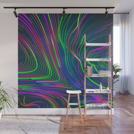 Streaks of Light Wall Mural