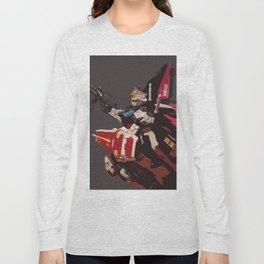 Gundam Aile Strike Digital Painting Long Sleeve T-shirt
