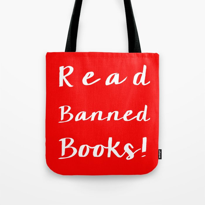 d2c128e3b000 Read Banned Books! Tote Bag by beautifulbibliophilesboutique