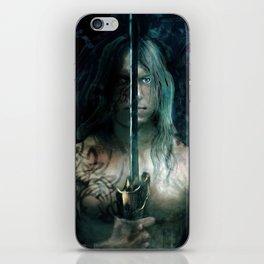 warrior inside iPhone Skin