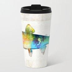 Rainbow Trout Art by Sharon Cummings Travel Mug