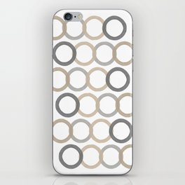 Circles Four iPhone Skin
