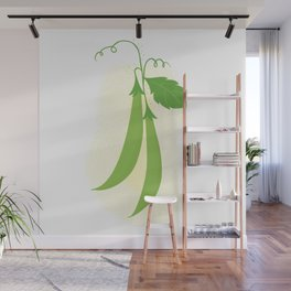 Snap peas Wall Mural