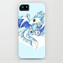Baby Ice Wyvern iPhone Case
